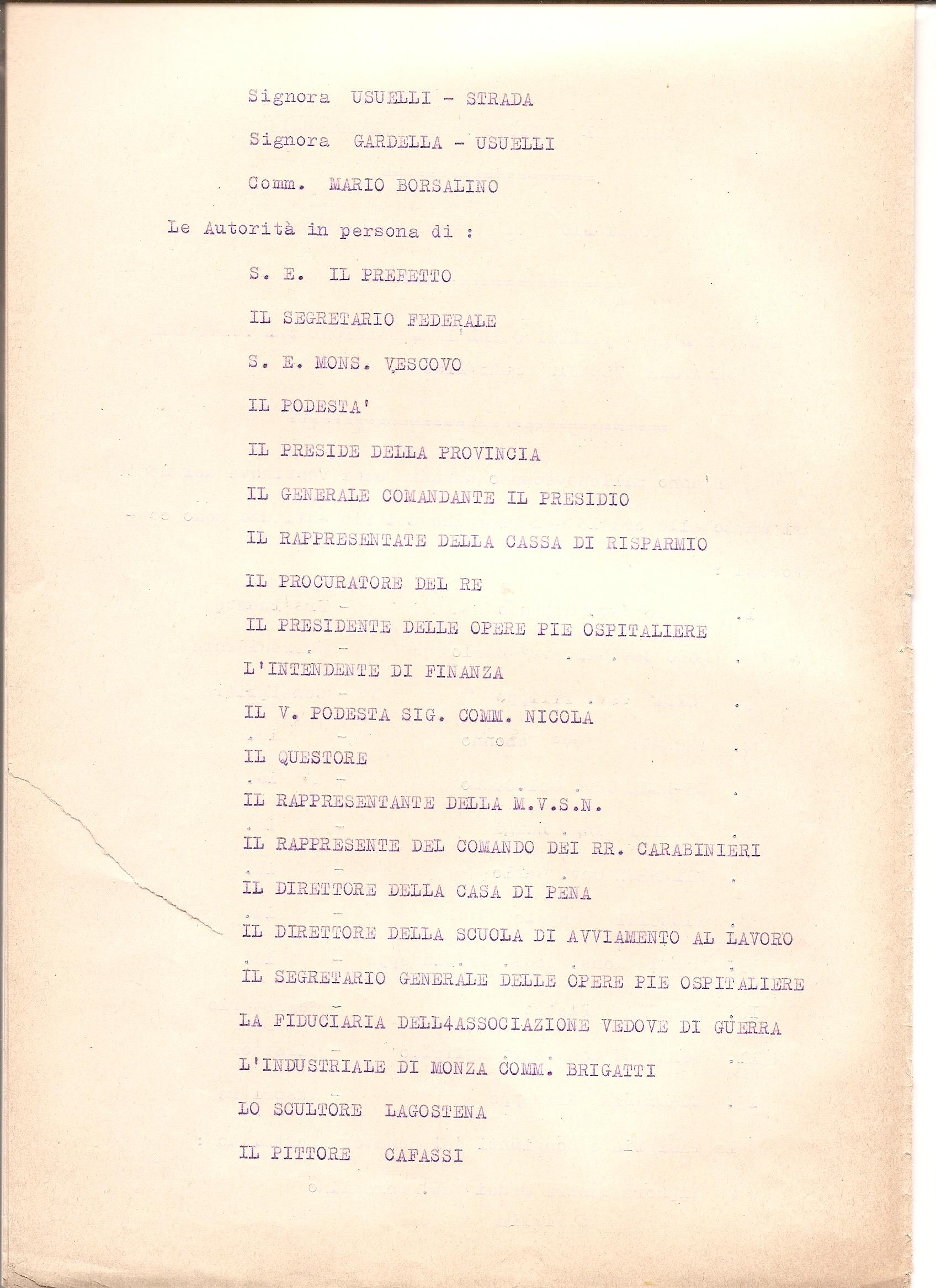 ... Novi Ligure aprile 1939 (COPIA). – Copia del Verbale di Inaugurazione  del monumento di S.M. Umberto I° in Alessandria- 1° settembre 1906. c8fcc70a3578