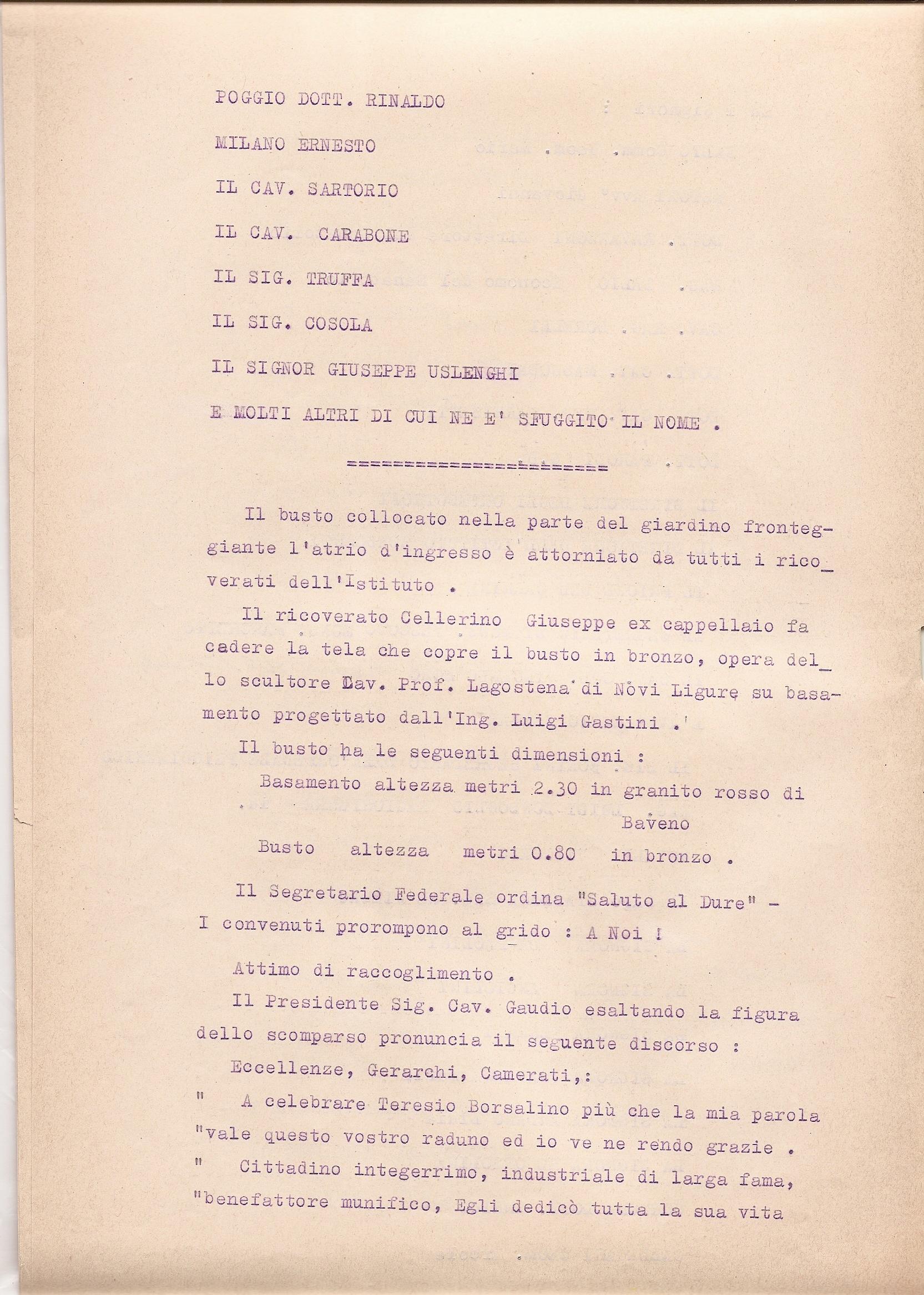 Cafassi Alberto ebbe l incarico dall Amministrazione di eseguire un grande  ritratto ad olio del Compianto Benefattore Senatore Teresio Borsalino. 1a92a60f117b
